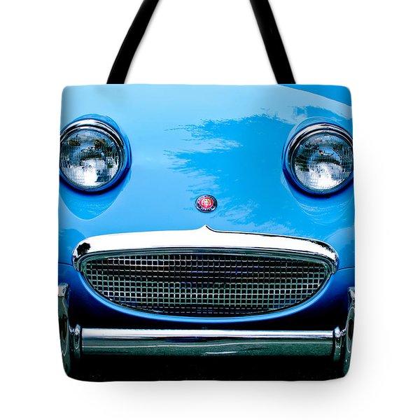 1960 Austin-Healey Sprite Tote Bag by Jill Reger