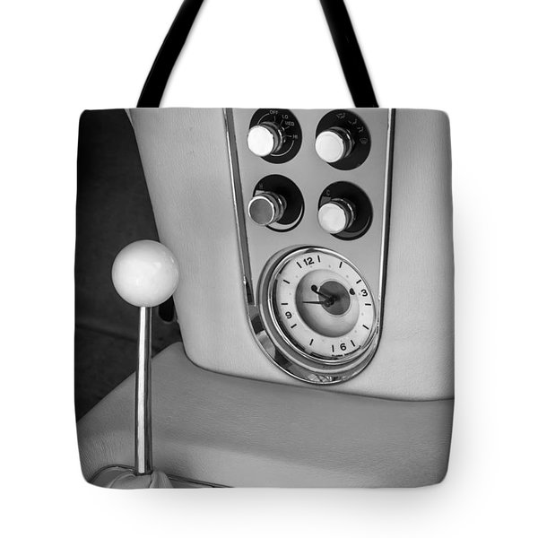 1960 Chevrolet Corvette Instruments Tote Bag by Jill Reger