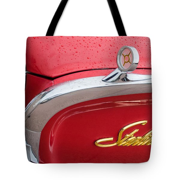 1960 Ford Galaxie Starliner Hood Ornament - Emblem Tote Bag by Jill Reger