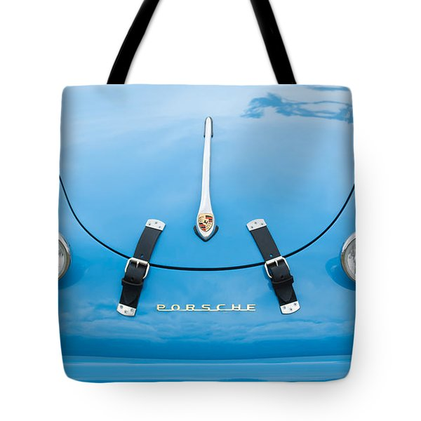 1960 Volkswagen Porsche 356 Carrera GS GT Replica  Tote Bag by Jill Reger