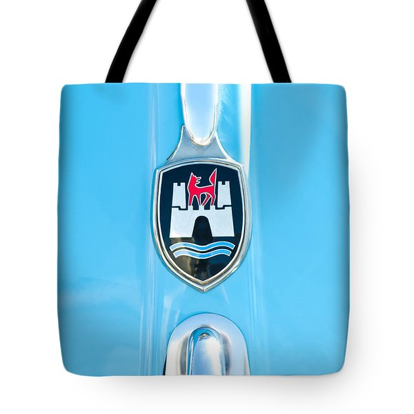 1960 Volkswagen Vw Hood Emblem 2 Tote Bag by Jill Reger
