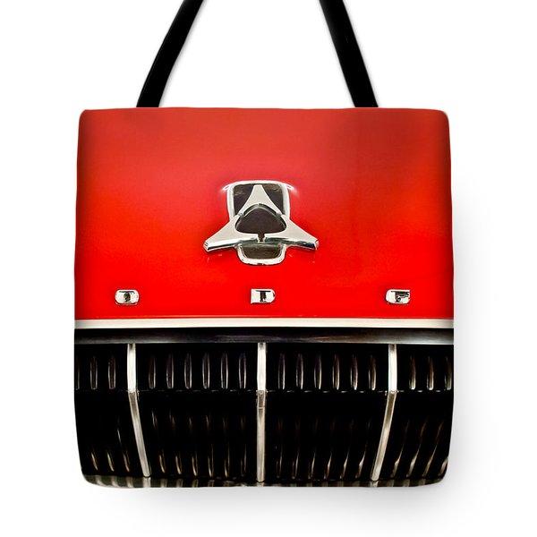 1962 Dodge Polara 500 Emblem Tote Bag by Jill Reger