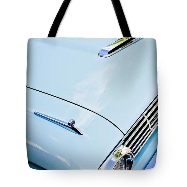 1963 Ford Falcon Futura Convertible Hood Tote Bag by Jill Reger
