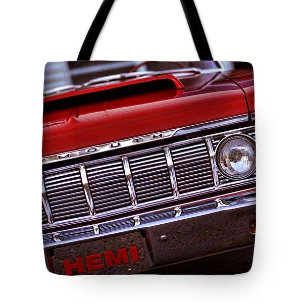 1964 Plymouth Savoy Tote Bag by Gordon Dean II
