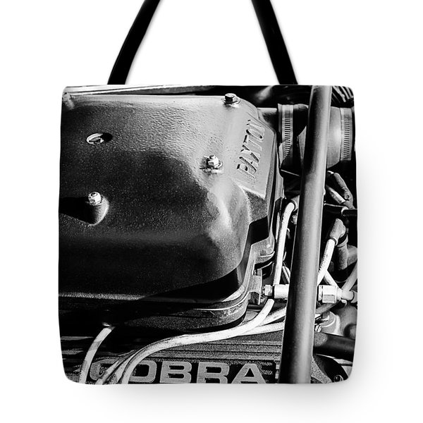 1965 Shelby Prototype Ford Mustang Paxton Tote Bag by Jill Reger