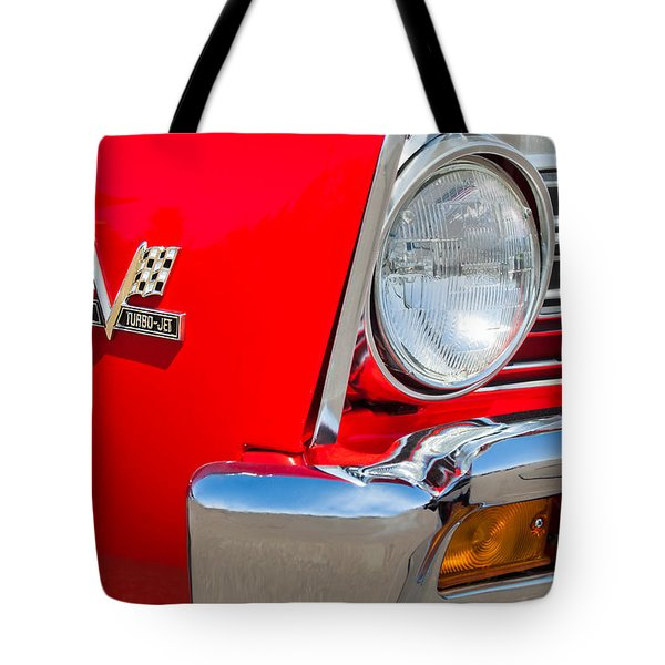 1967 Chevrolet Chevelle Ss Emblem Tote Bag by Jill Reger