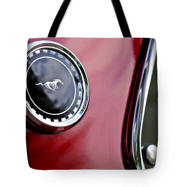 1969 Ford Mustang Mach 1 Tote Bag by Jill Reger