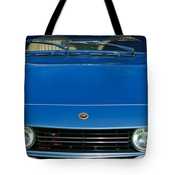 1971 Fiat Dino 2.4 Grille Tote Bag by Jill Reger