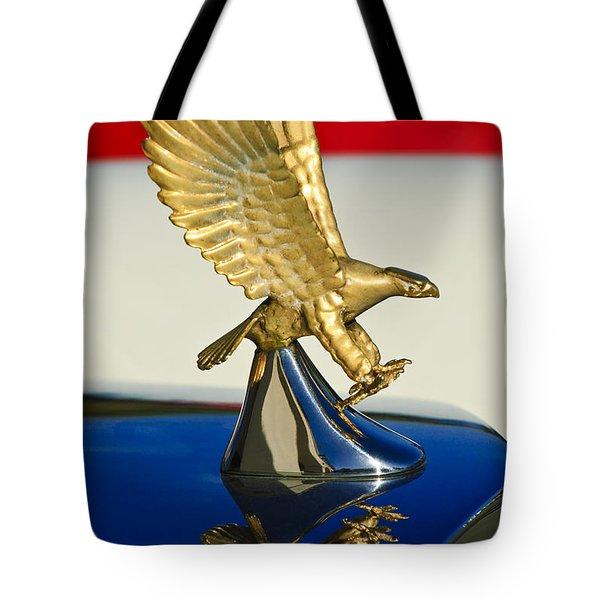 1986 Zimmer Golden Spirit Hood Ornament Tote Bag by Jill Reger