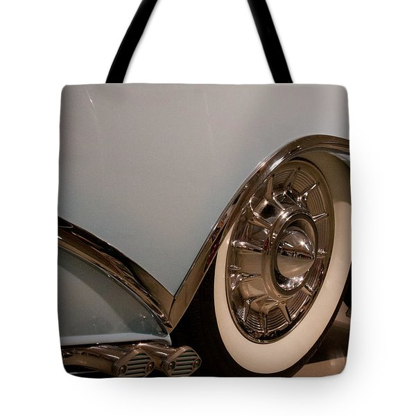 1954 Buick Century Convertible Tote Bag by David Patterson