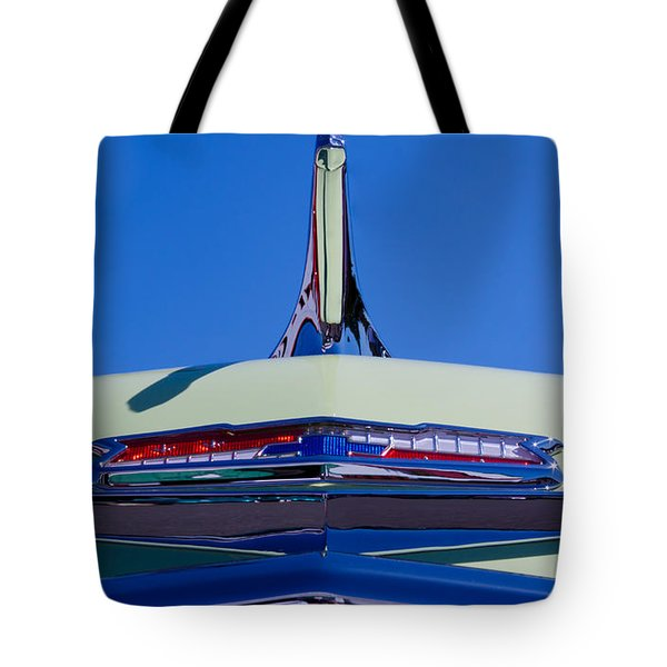 1956 Chevy Bel Air Custom Hot Rod Tote Bag by David Patterson
