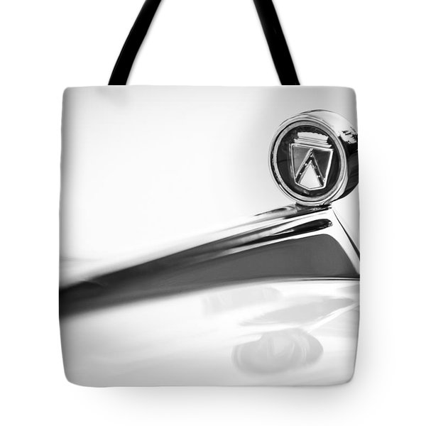 1963 Ford Falcon Futura Convertible  Hood Ornament Tote Bag by Jill Reger