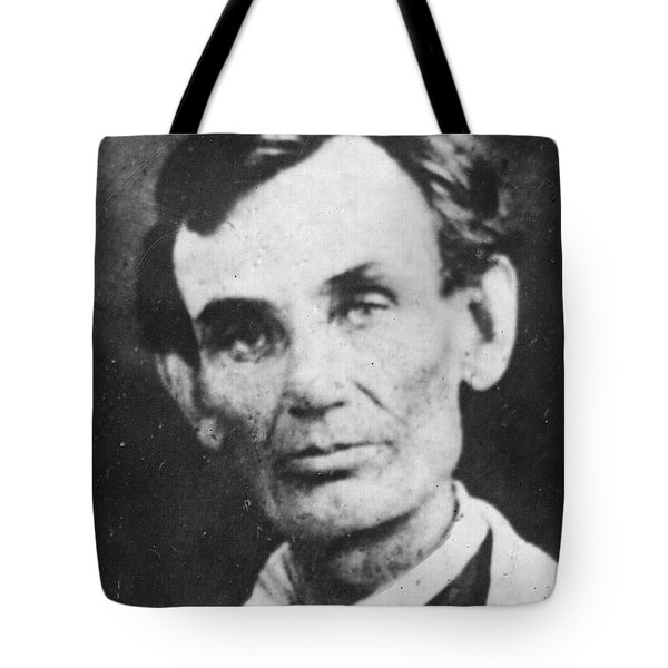 Abraham Lincoln Tote Bag by Anonymous