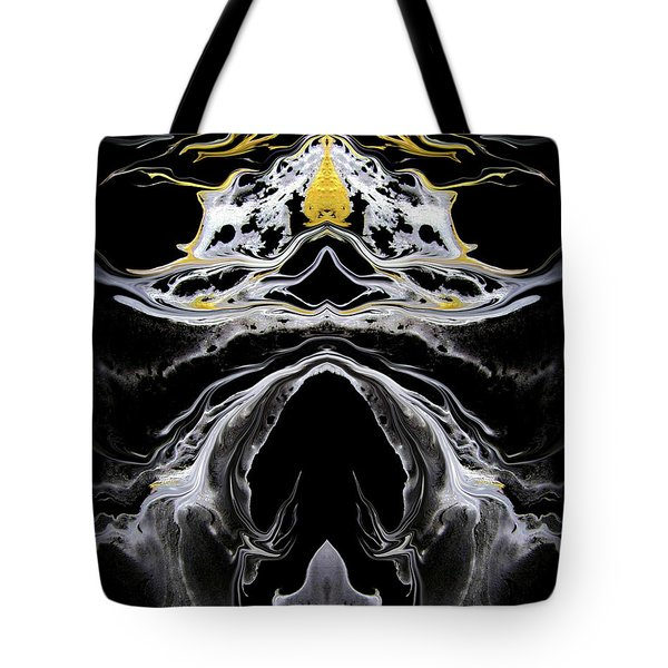 Abstract 138 Tote Bag by J D Owen