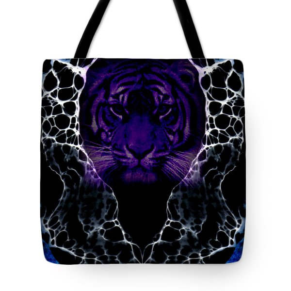 Abstract 65 Tote Bag by J D Owen