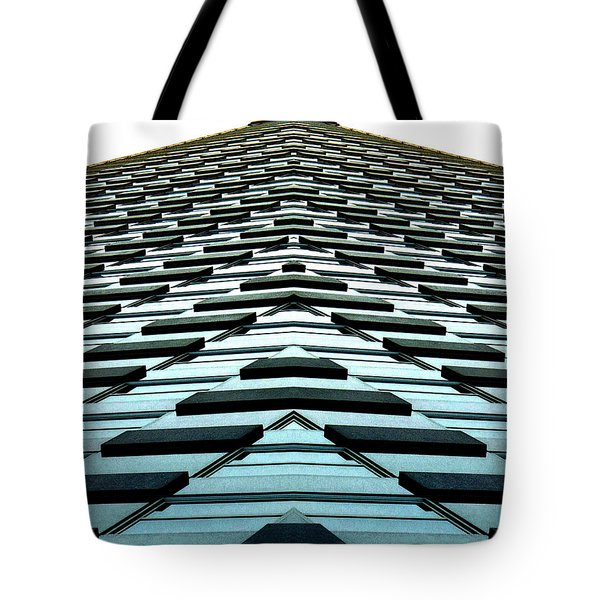 Abstract Buildings 1 Tote Bag by J D Owen