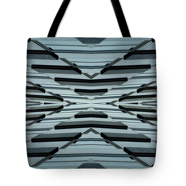 Abstract Buildings 3 Tote Bag by J D Owen