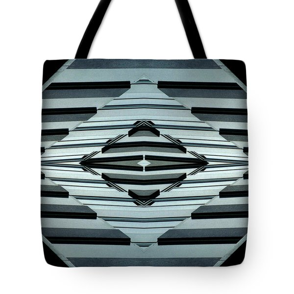 Abstract Buildings 6 Tote Bag by J D Owen