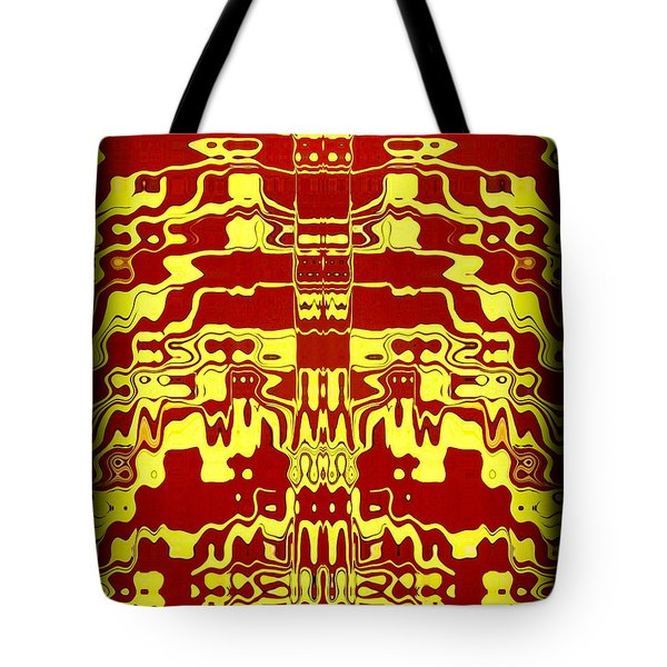 Abstract Series 1 Tote Bag by J D Owen