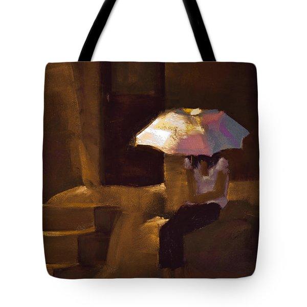 Adobe Sun Tote Bag by David Patterson