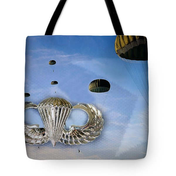 Airborne Tote Bag by JC Findley