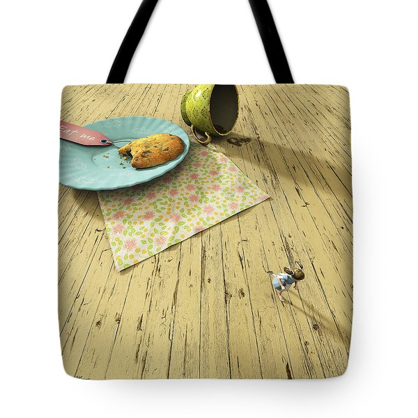 Alice Tote Bag by Cynthia Decker