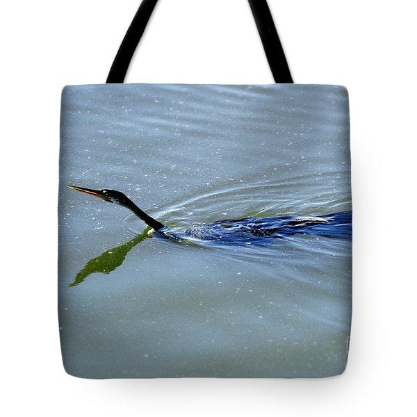 Anhinga Tote Bag by Art Wolfe
