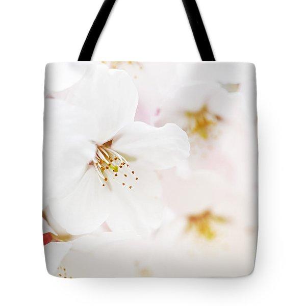 Apple blossoms Tote Bag by Elena Elisseeva