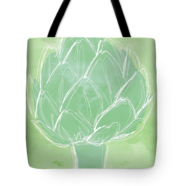 Artichoke Tote Bag by Linda Woods