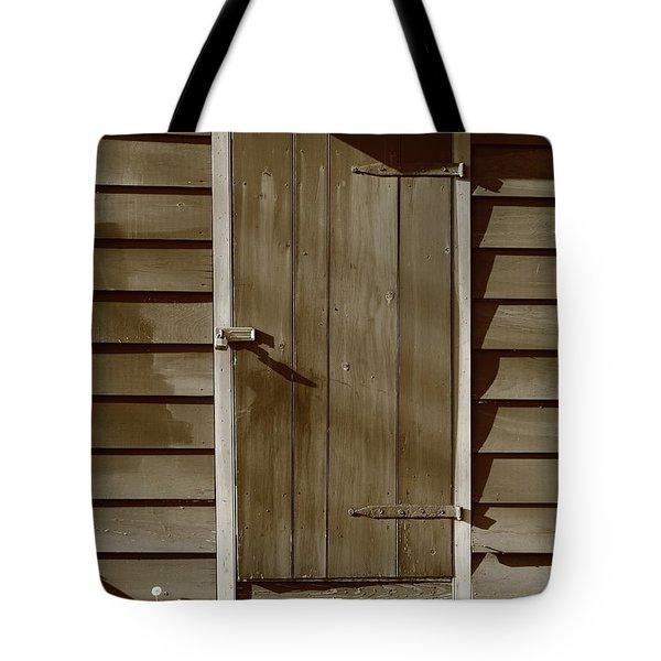 Barn Door Tote Bag by Frank Romeo