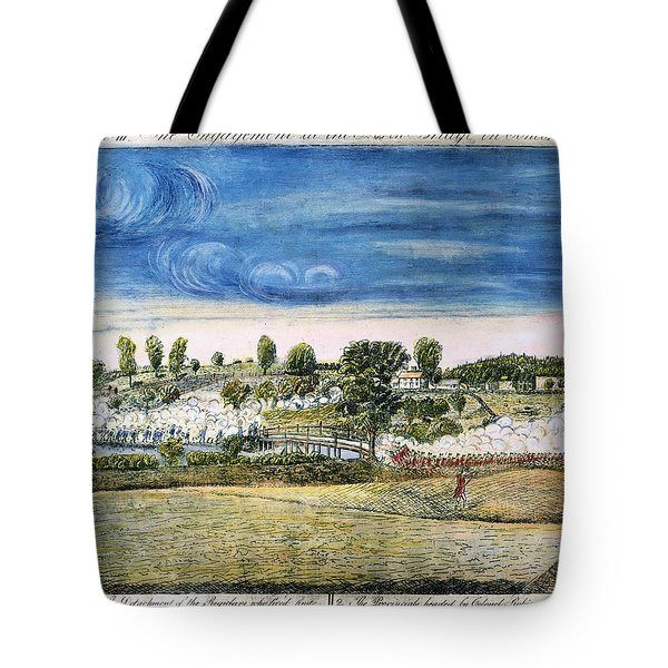 Battle Of Concord, 1775 Tote Bag by Granger