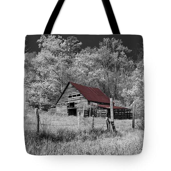 Big Red Tote Bag by Debra and Dave Vanderlaan