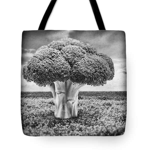 Broccoli Tree Tote Bag by Wim Lanclus