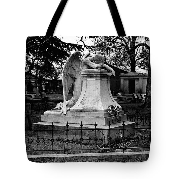 Broken Angel  Tote Bag by Peter Piatt