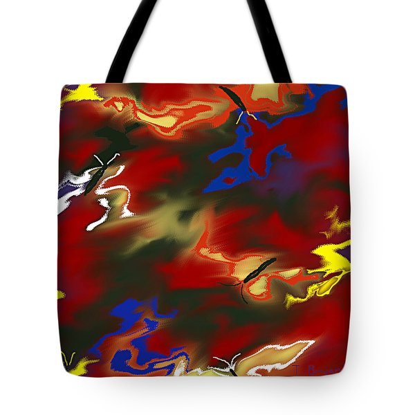 Butterflies' Dance Tote Bag by Thomas Bryant