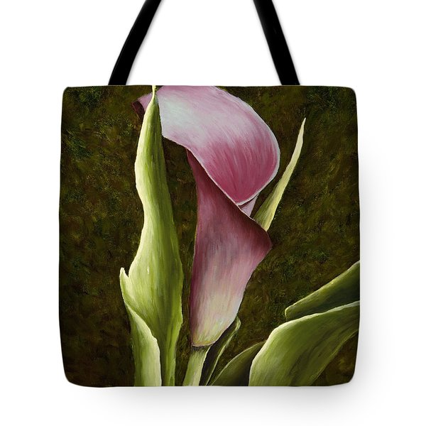 Calla Lily Tote Bag by Mary Ann King