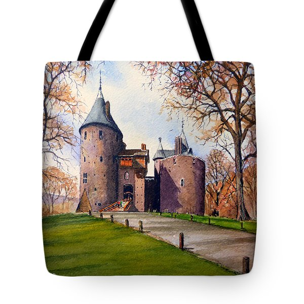 Castell Coch  Tote Bag by Andrew Read