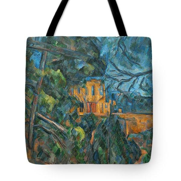 Chateau Noir Tote Bag by Paul Cezanne