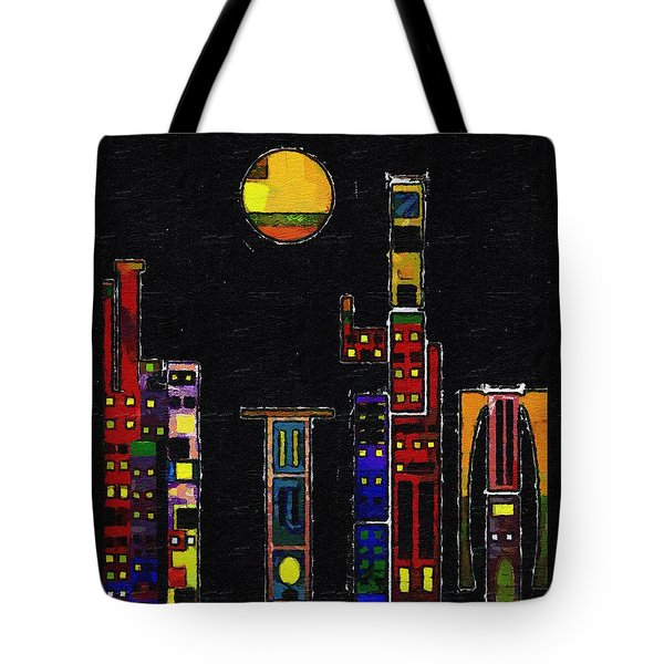 Chinatown Tote Bag by RC deWinter