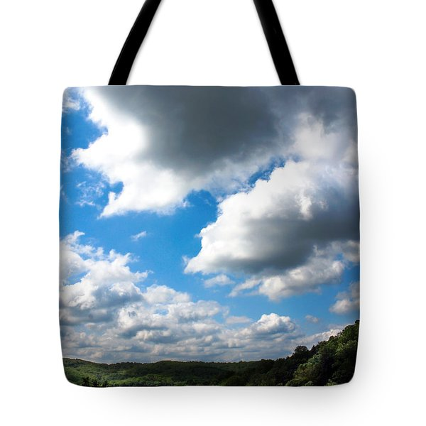 Clouds Tote Bag by Optical Playground By MP Ray