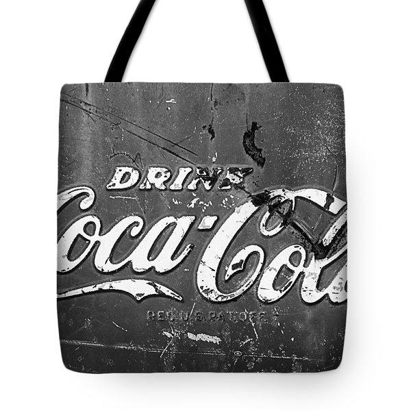 Coca-cola Sign Tote Bag by Jill Reger