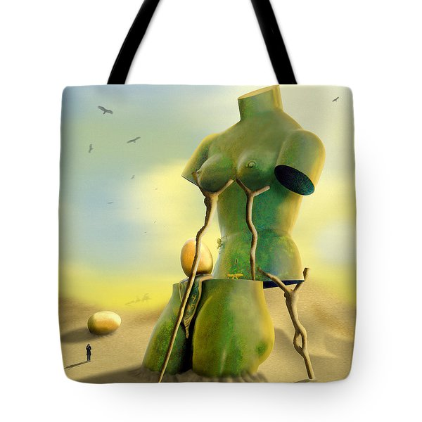 Crutches Tote Bag by Mike McGlothlen
