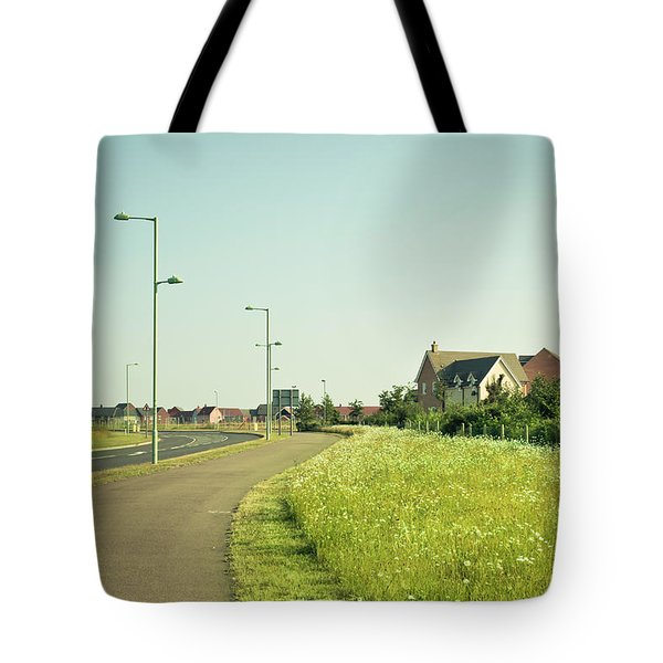 Cycle Path Tote Bag by Tom Gowanlock