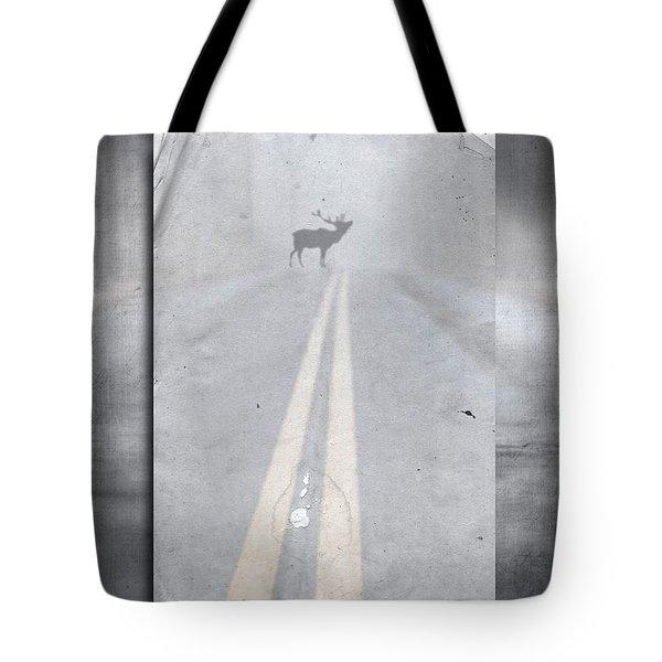 Danger Ahead Tote Bag by Edward Fielding