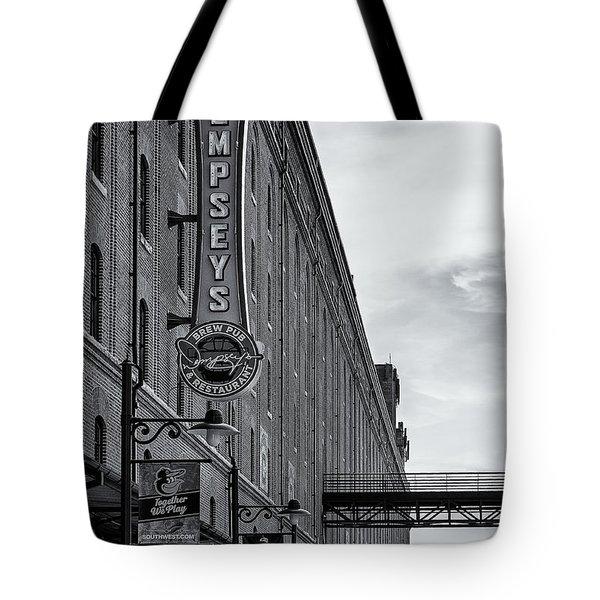 Dempseys Brew Pub Tote Bag by Susan Candelario