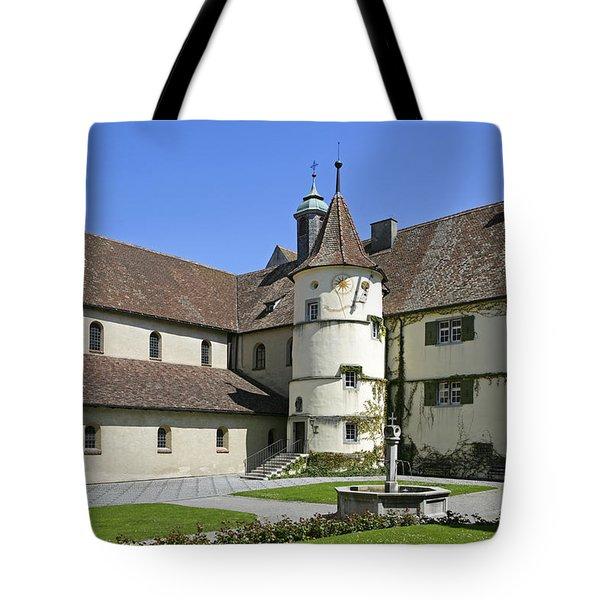 Deutschland, Insel Reichenau Am Tote Bag by Tips Images