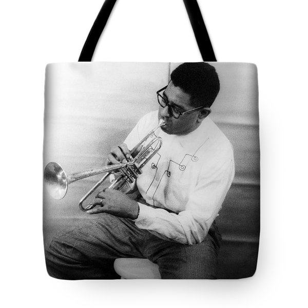 Dizzy Gillespie (1917-1993) Tote Bag by Granger