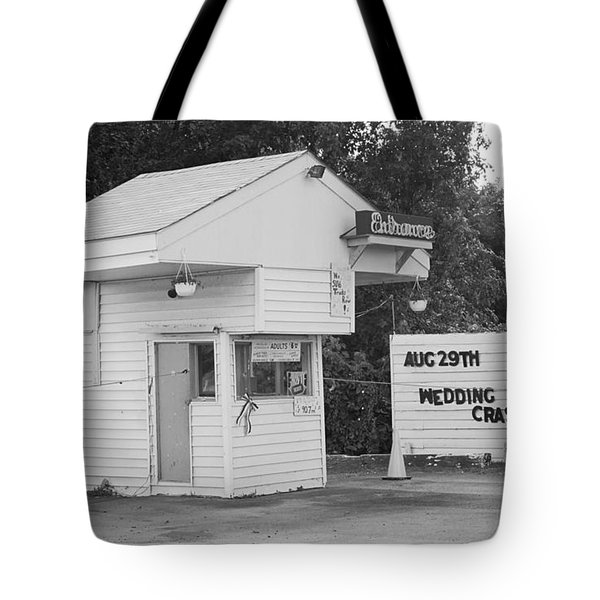 Drive-in Theater Tote Bag by Frank Romeo