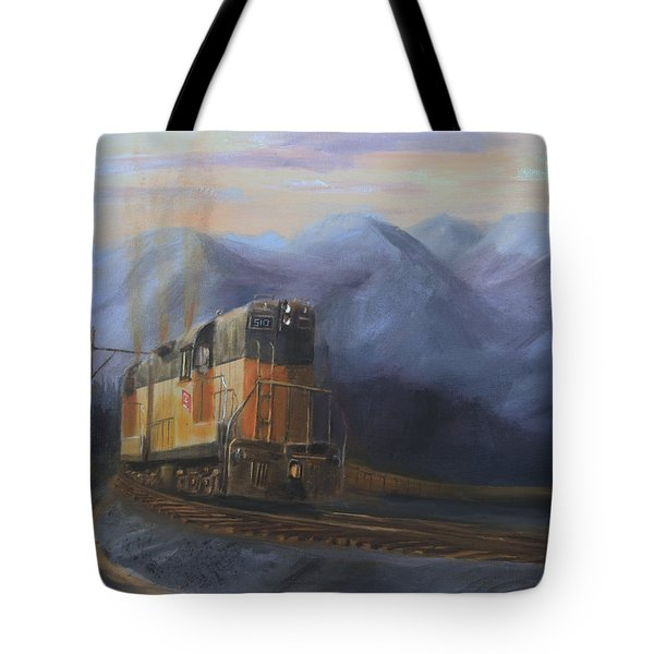 East Of The Belt Range Tote Bag by Christopher Jenkins