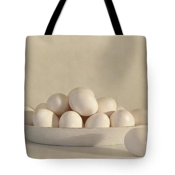 eggs Tote Bag by Priska Wettstein